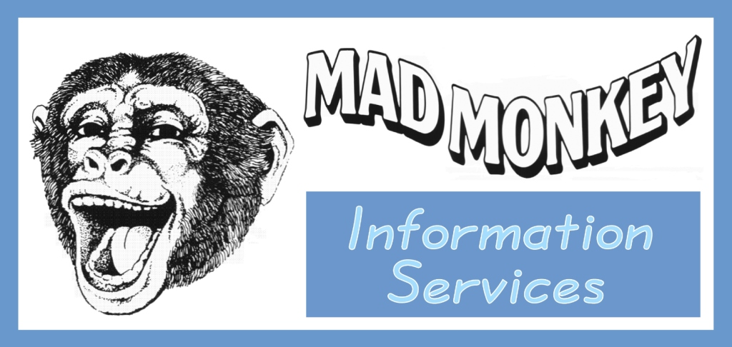 Mad Monkey Information Services Header
