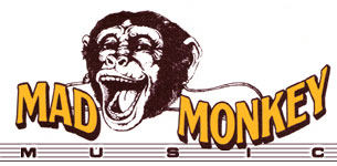 Mad Monkey Music: Click on the monkey to go home!